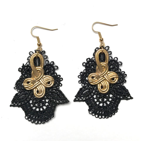 Bella Lace Earrings