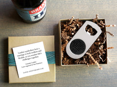 Secret Message Bottle Opener
