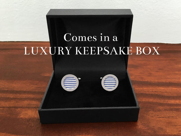 Heathered Silk Cufflinks