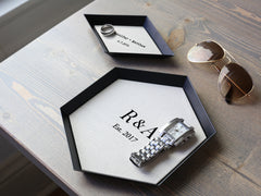 The Brooklyn- Personalized Linen Trays