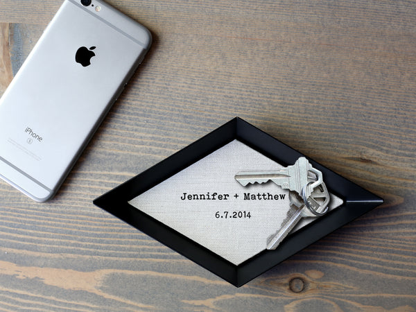 The Brooklyn- Personalized Cotton Tray