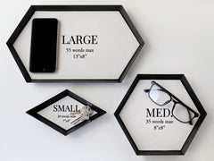 Custom Metal Tray with Corporate Logo