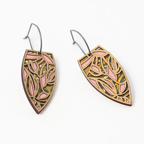 Petals Cotton Earrings