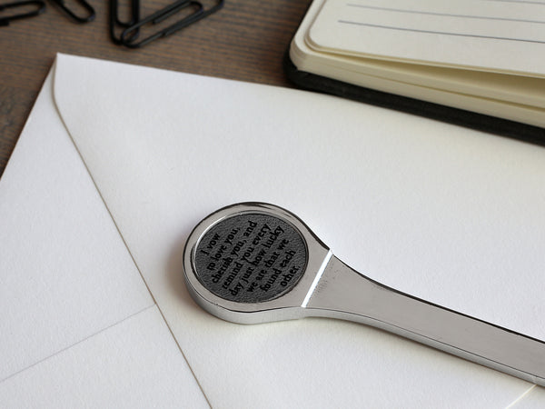 Secret Message Letter Opener