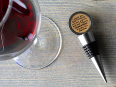 Walnut Wood Bottle Stopper