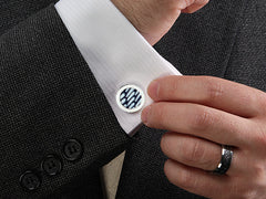 Cufflinks For Him - Northern Sky