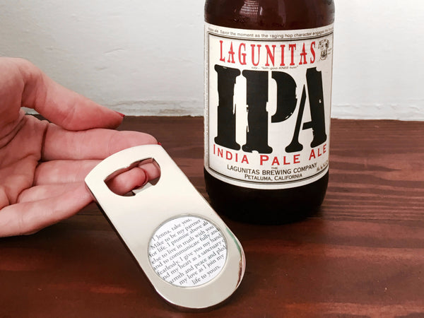 Cufflinks For Him - Personalized Bottle Opener