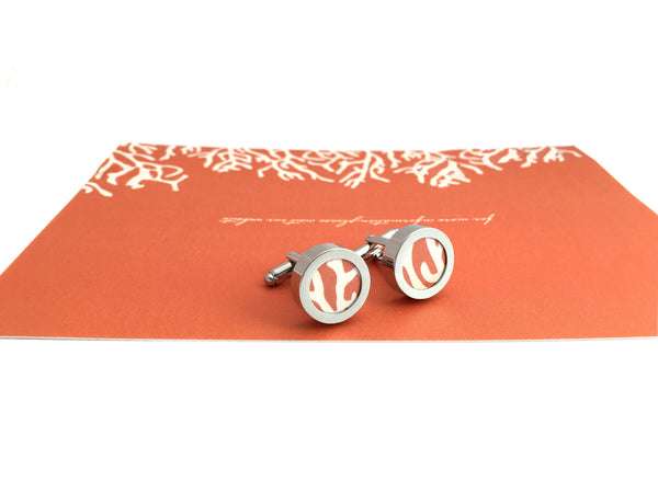 Cufflinks For Him - Wedding Invitation Gift Set