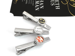 Cufflinks For Him - Wedding Invitation Tie Bar
