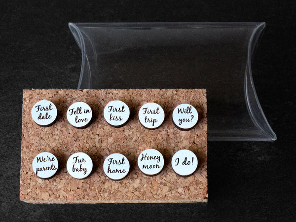 customized push pins map