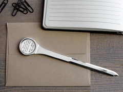 Personalized Letter Opener
