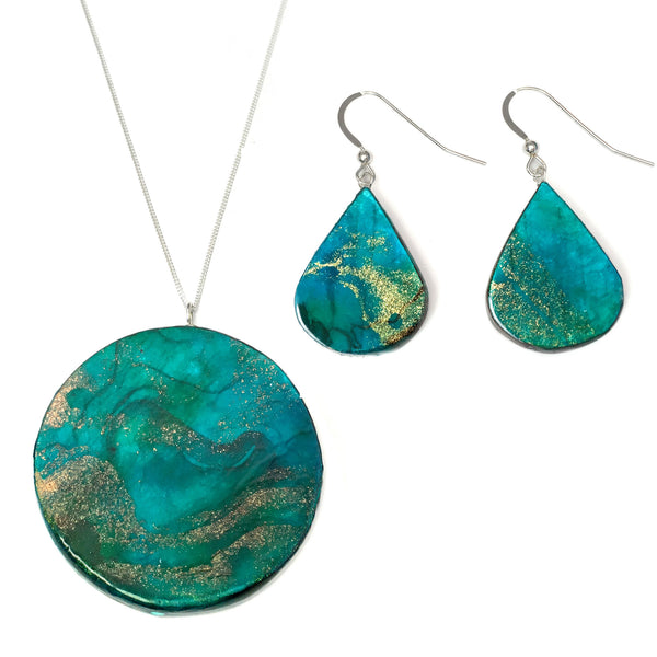 first anniversary gift for her - neptune paper jewelry