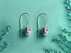 Earrings with Vows or Song