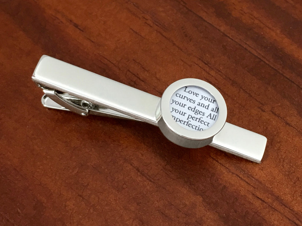 Tie Clip with First Dance Song