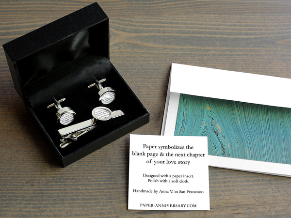 Gift Set with Vows or Wedding Song