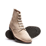 Sand Suede 6 Eye Derby Boot