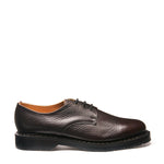 Dark Brown Grain 3 Eye Gibson Shoe