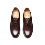 Cinnamon Brown Hi-Shine Gibson Shoe
