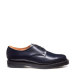 Navy Hi-Shine Gibson Shoe