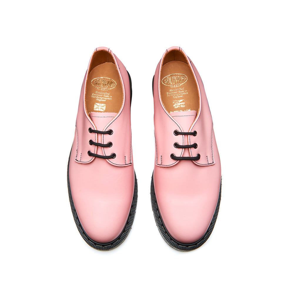 Blush Pink Hi-Shine Gibson Shoe