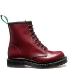 Cherry Red 8 Eye Derby Boot