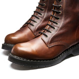 Nut Brown Grain 8 Eye Derby Boot