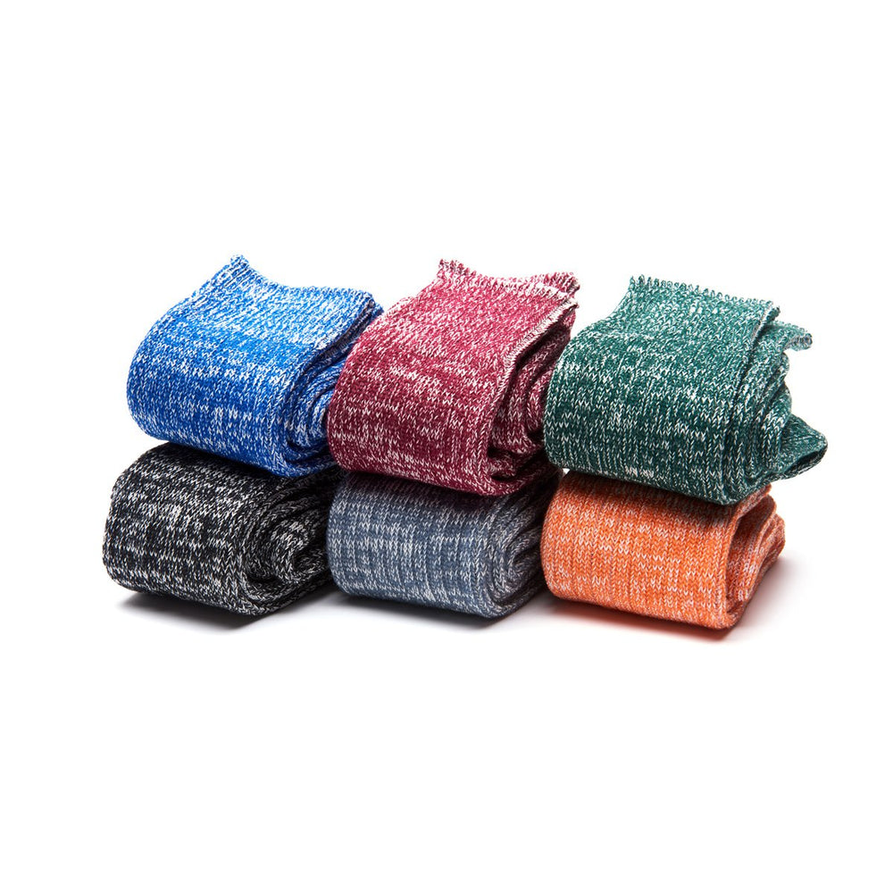 Cushioned Cotton-blend Socks