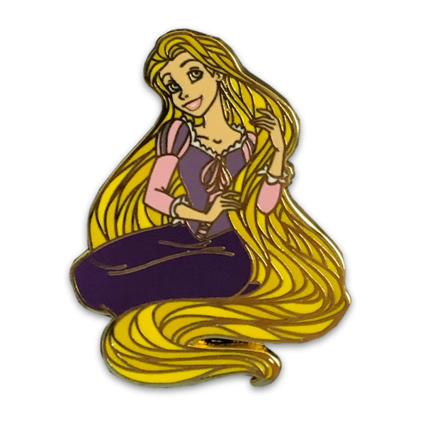 Rapunzel Gleam and Glow Pin - Limited Edition of 600