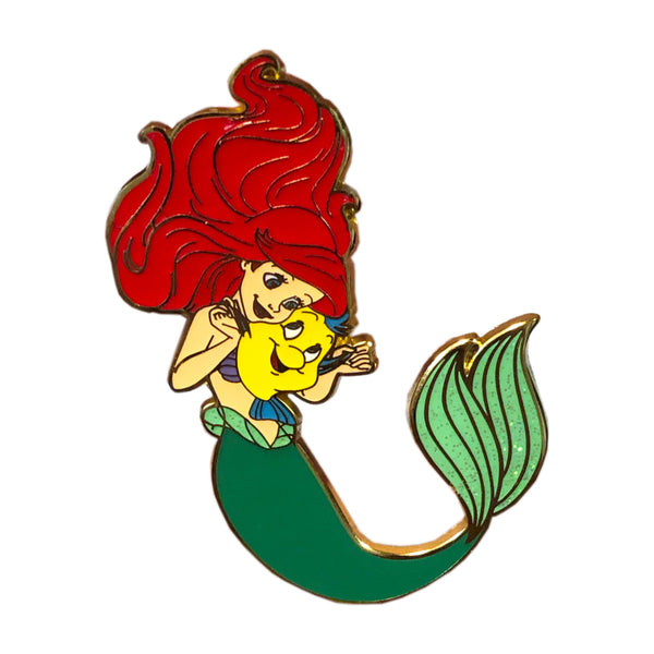 Ariel Adventures: Ariel and Flounder Series 2 Pin - Limited Edition of 600