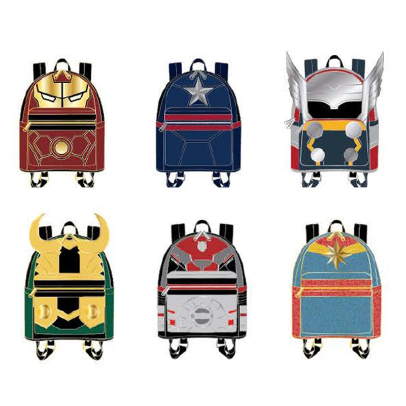 Marvel Backpack Blind Box Enamel Pin