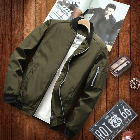 casual hip hop baseball collar print fashion jacket
