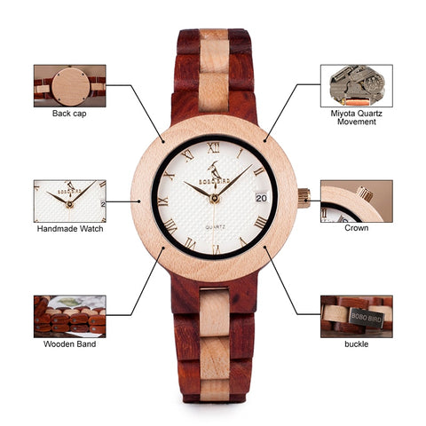 Movement Timepieces Wood Watches