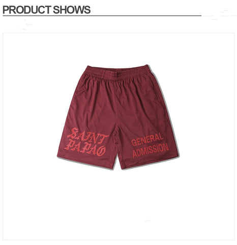 Casual Hip Hop Drake Skateboard Shorts