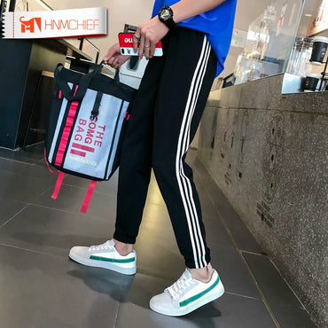 Casual Casual Elastic cotton Fitness Workout Pants