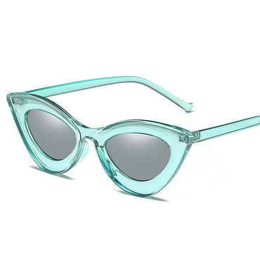 Classic Transparent Metal Vintage Sunglasses