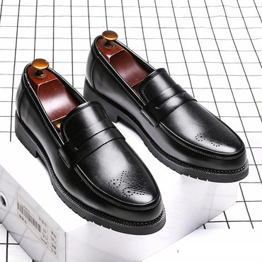 Bullock Style Leather Flats Leather Formal Oxfords Shoes