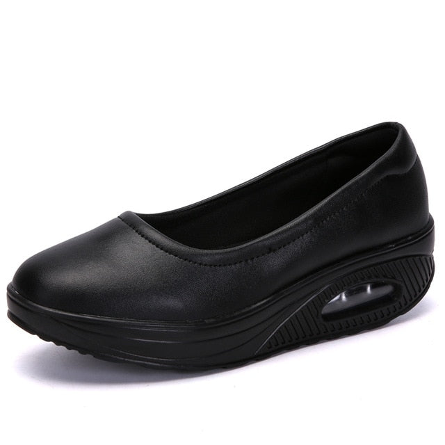 Casual Casual Comfort Low Thick Flats