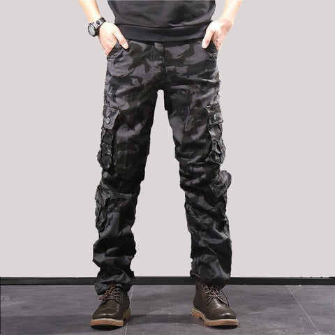 Camouflage Combat Hiking Pocket Baggy Water Repellent Pants