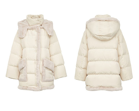 Loose Fit Down Jacket