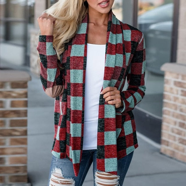 Green Blue Red Casual Bohemian Jackets Coats