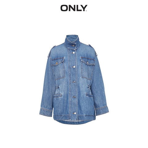 Loose Fit Denim Jacket
