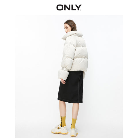 Loose Fit Short Down Jacket
