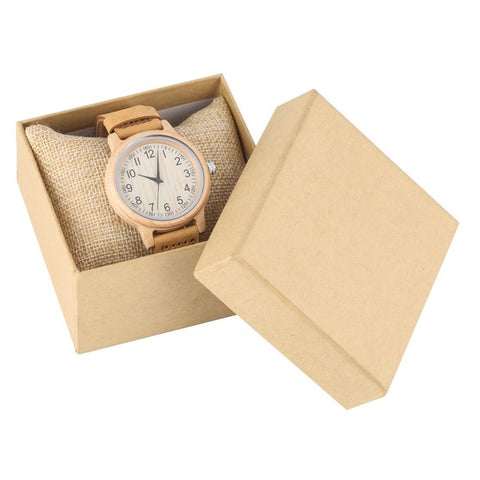 Natural All Bamboo Luxury wood watches