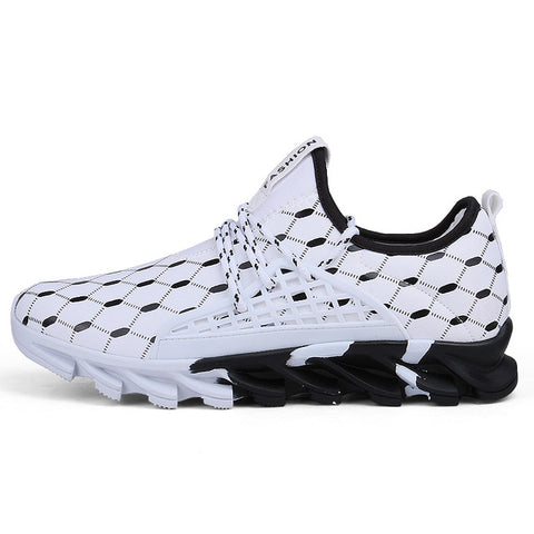 Mesh Sport Lace up Lightweight Comfortable Breathable Walking Sneakers