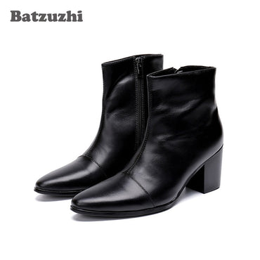 High Heels Genuine Leather Boots