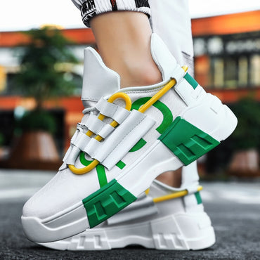 Casual Lace Up Breather Mesh Sneakers Shoes