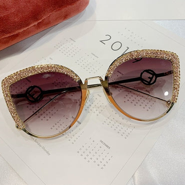 Cat Eye Luxury Gradient Sunglasses