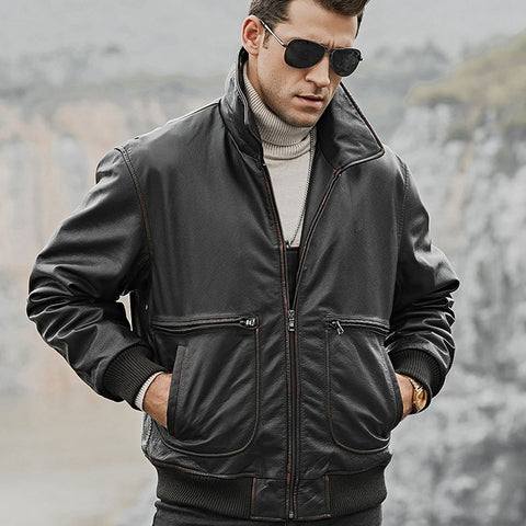 Genuine Leather Cowhide Jackets
