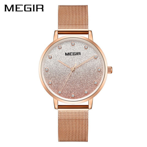 Star Magnetic Starry Sky Clock Luxury Diamond Quartz Watch