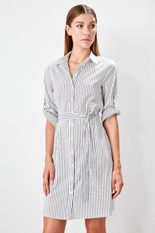 Ecru Shirt Dresses